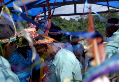 Símbolo da identidade de quilombolas do Baixo Amazonas em Doc