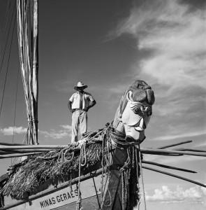 Carrancas de proa-Rio São Francisco-BA-1946-Marcel Gautherot-Acervo IMS