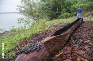 karaja construcao de canoa
