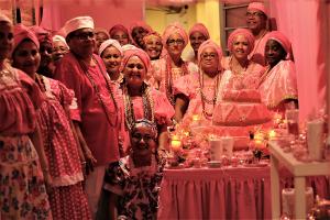 Mesa de doces, festa de Oya